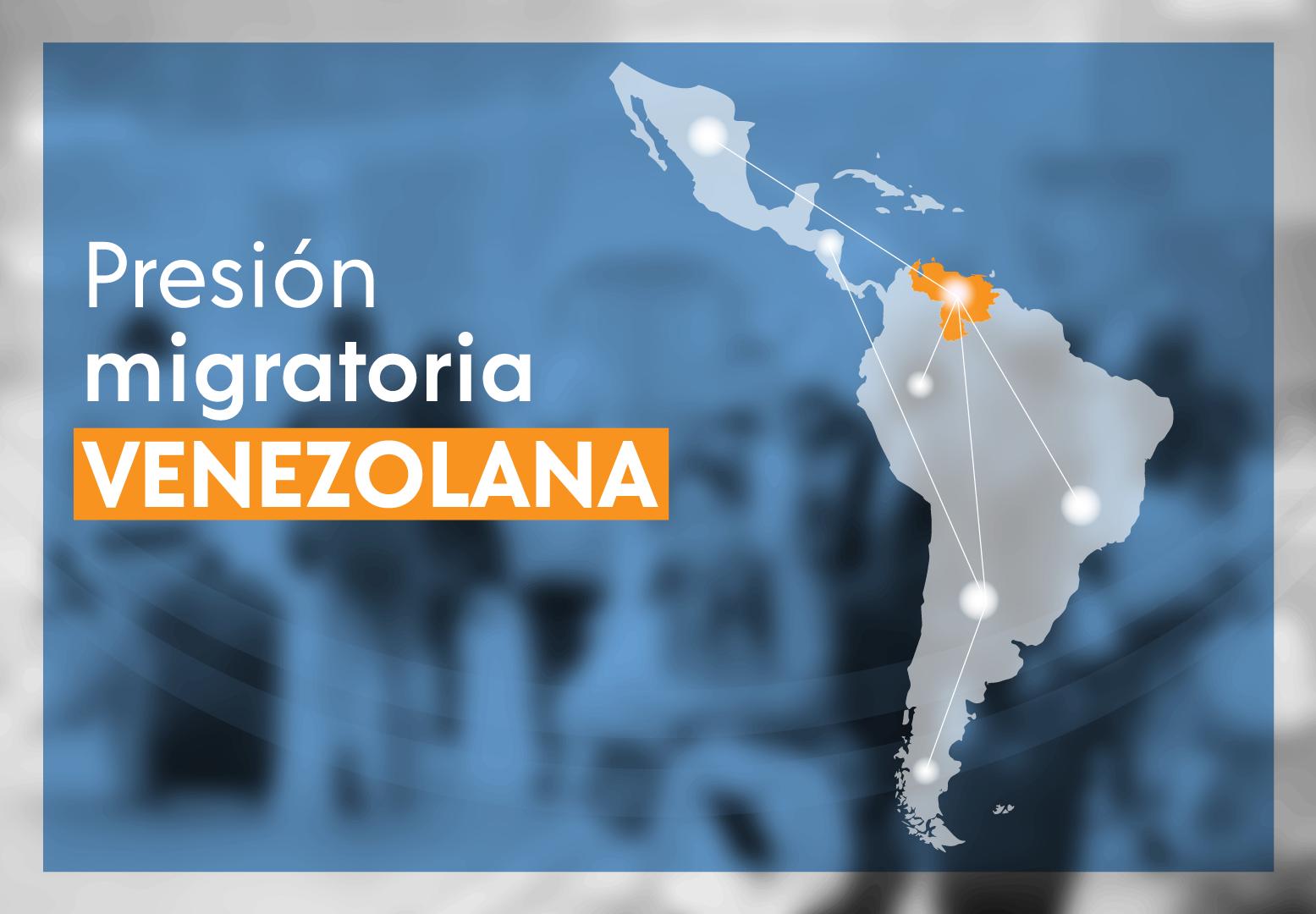 debate sobre presion migratoria venezolana