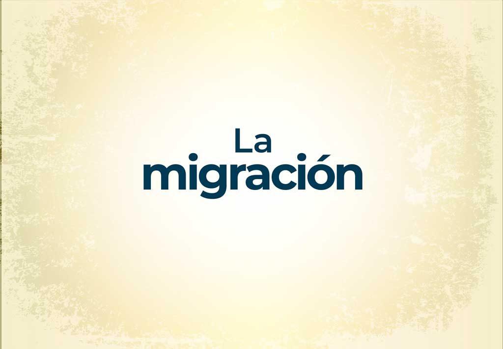 ¿La migración resulta un factor positivo o negativo?
