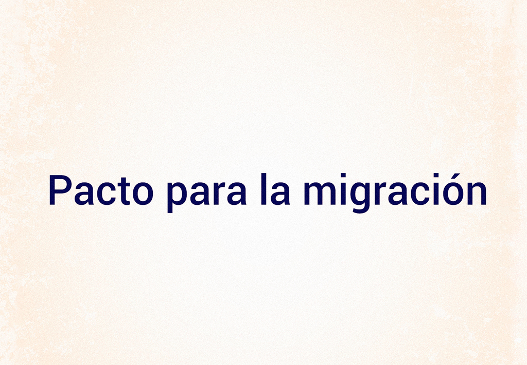 pacto para la migracion