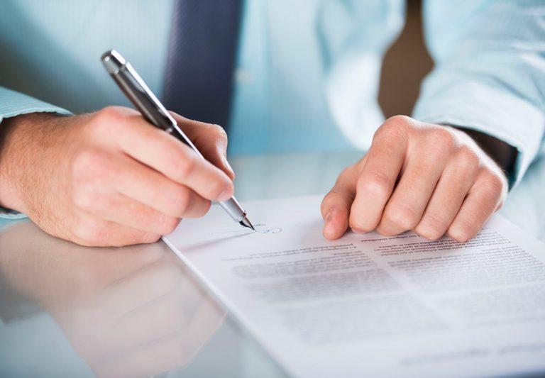 firma de contratos