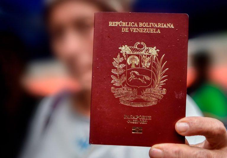 Pasaportes venezolanos vencidos en espana