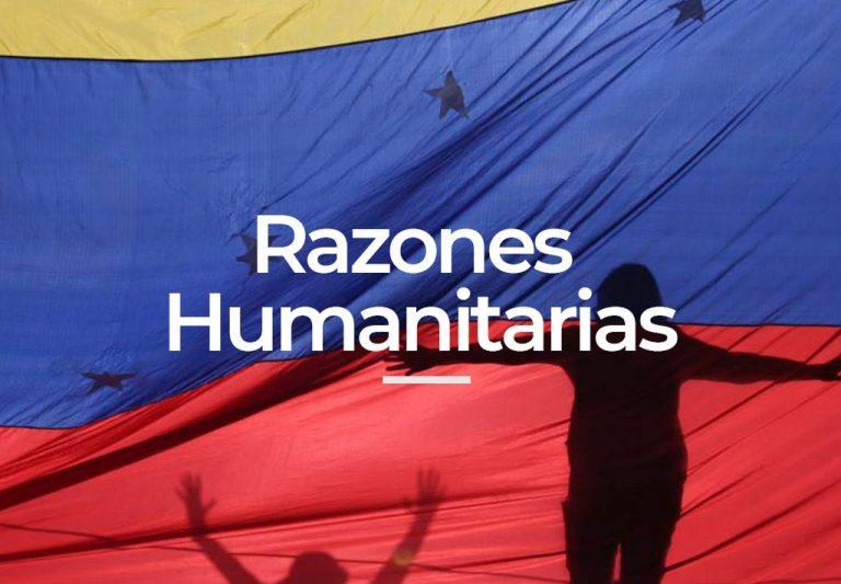 Permiso por razones humanitarias en españa a venezolanos